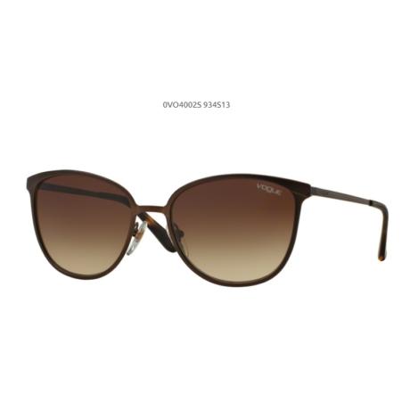 VOGUE VO4002S 934S13 MATTE BROWN BURNT/ brown gradient Napszemüveg
