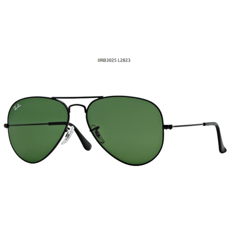 Ray-Ban RB3025 BLACK L2823 AVIATOR NAPSZEMÜVEG