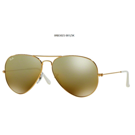 Ray-Ban RB3025 GOLD 001/3K Aviator Napszemüveg