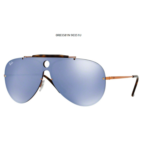 Ray-Ban RB3581N BLAZE SHOOTER 90351U COPPER  Napszemüveg