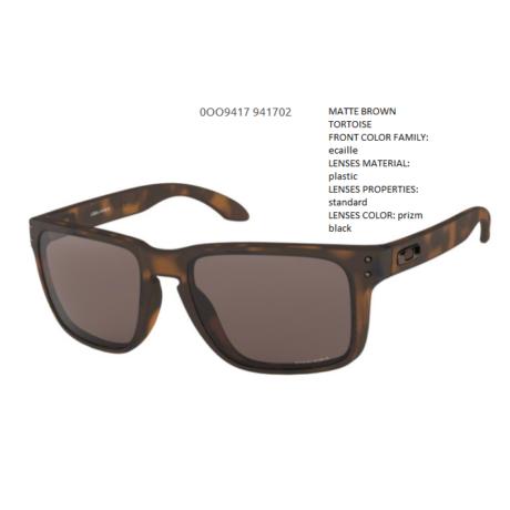 OAKLEY Holbrook XL MATTE BROWN TORTOISE/prizm black OO9417-02 Napszemüveg