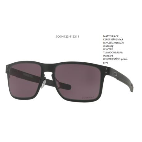 OAKLEY Holbrook Metal MATTE BLACK/prizm grey OO4123-11 Napszemüveg