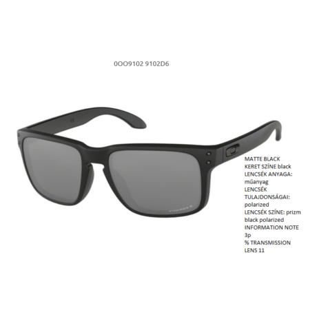 Oakley Holbrook MATTE BLACK/prizm black polarized OO9102-D6 Napszemüveg