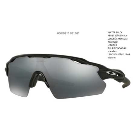 OAKLEY OO9211-01 RADAR EV PITCH SZEMÜVEG
