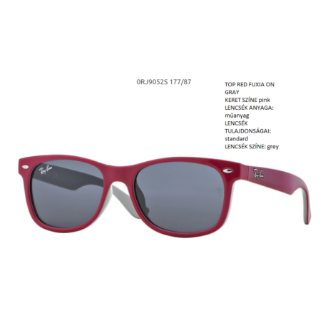 Ray-Ban RJ9052S 177/87 NEW WAYFARER Junior Napszemüveg