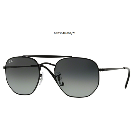 Ray-Ban RB3648 THE MARSHAL 002/71 BLACK Napszemüveg