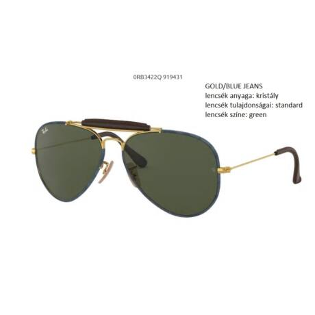 RAY-BAN RB3422Q AVIATOR CRAFT  919431 NAPSZEMÜVEG