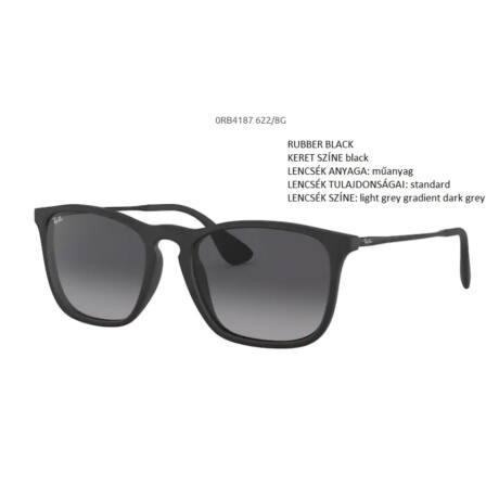 RAY-BAN RB4187 CHRIS  622/8G NAPSZEMÜVEG