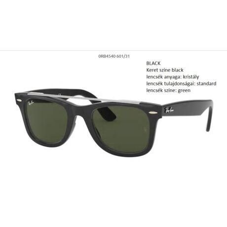 RAY-BAN RB4540 WAYFARER 601/31 BLACK NAPSZEMÜVEG